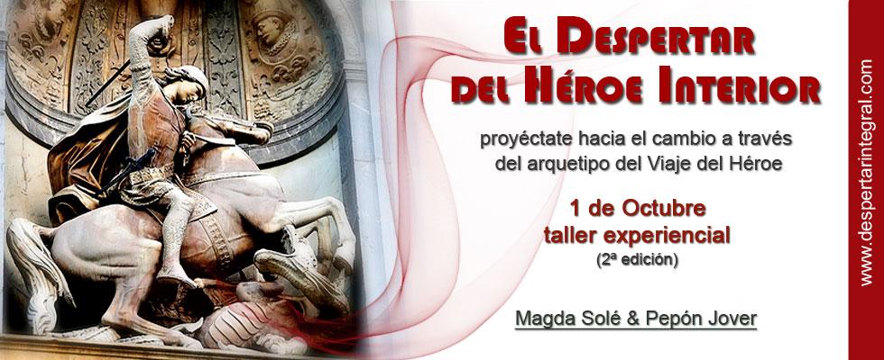 taller despertar del héroe interior 1 Oct barcelona