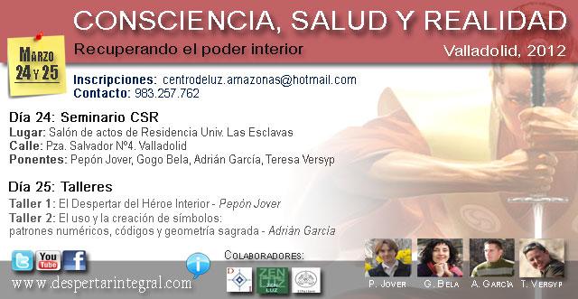 Seminario CSR - Pepón Jover, Gogo Bela, Adrián García, Teresa Versyp