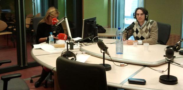Entrevista Pepón Jover en Radio RNe