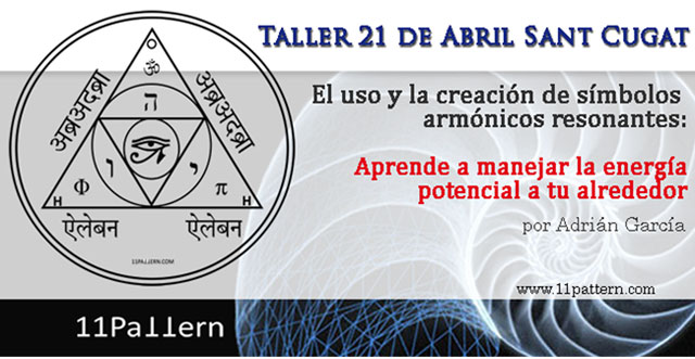 Taller uso y creación símbolos armónicos resonantes Adrián García