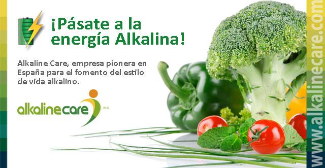Alkaline Care - pásate a la energía alkalina