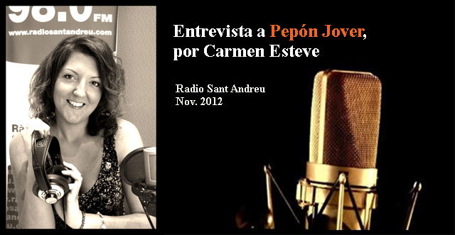 Entrevista Pepón Jover por Carmen Esteve
